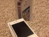 Im Selling a White Sprint Iphone 4S 16GB unit, Iphone