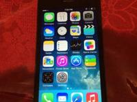 BLACK SPRINT IPHONE 5 16GB CLEAN ESN 8/10 CONDITION FOR