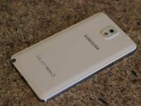 SPRINT White Samsung Galaxy Note 3 32gb Mint, Flawless