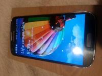 For sale I have a Samsung Galaxy S4 on the Sprint
