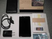 Good as new, never used Sprint LG Optimus G e970 for
