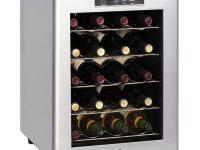 The SPT 20-Bottle Wine Cooler features a stylish design