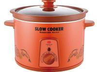 The SPT 5.28 qt. Slow Cooker is made with a porous