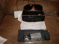 db6a326793e0d New Rare Spy Murena West Coast Customs Gloss Black Sunglasses ...