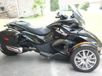 2013 ST Limited Edition Spyder Can Am: Just has a
