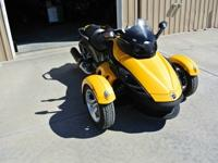 Can-AmSPYDER It is in excellent condition, has been