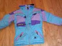 SEE PHOTO Turquoise trimmed in lavendar and purple,