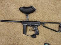 Spyder MR1 Paintball Gun w/ hopper, good condition,