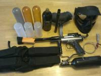 Used Spyder-TL paintball gun with everything to start