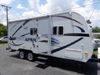 This quad bunk Apex 298BHS ultra lite by Coachmen RV is