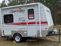 Loaded (Decor) an elegant Hybrid Travel Trailer for