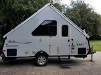 Expedition travel trailer by Aliner - High wind/lift