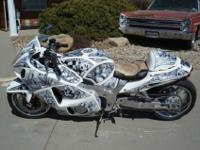 ONE OF A KIND CUSTOM HAYABUSA. I DONT THINK YOU WILL