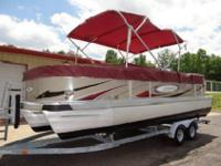 THIS BOAT HAS BEEN SERVICED AND IS LAKE READY! THE
