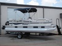 You are viewing a 2007 FISHER LIBERTY 200 PONTOON BOAT