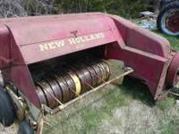 NEW HOLLAND 68 HAYLINER GOOD CONDITION ASKING 700$ CALL