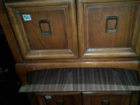 We have a set of living room end tables for sale for