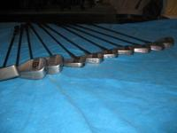Set of Square Two (S2) golf clubs Includes the