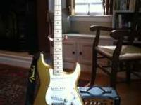 Squier Affinity Stratocaster Electric Guitar (Aztec
