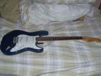 I am selling my Squier Bullet. I no longer play guitar