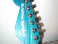 We are selling a Squier stagemaster by Fender Electric
