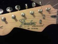 Squier Fender Stratocaster Made in Korea, Black &