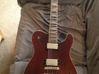 > )Squier Master Series Chambered Telecaster -