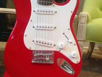Guitar with strap $60.00 (Paid $109.00 new) TKL padded