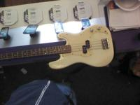 I have a Squier p bass, it is the little brother of