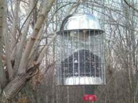 Squirrel Proof Bird Feeder. This is an all metal