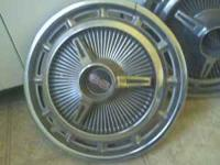 2 Chevy SS hubcaps good condition $30.00  Location: