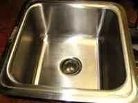 "Stainless Sink Elkay sink (12"" x 12"") bar-size sink in"