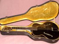 SS Steward Guitar Archtop by Consistency believed to be