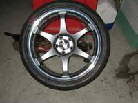 I have TWO (2) SSR Type-C wheels, one is 18x8.5 and the