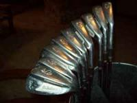 This is a complete set of St Andrews irons in good