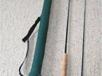 "Great unused 8'6"" two piece St. Croix Pro-Graphite Fly"
