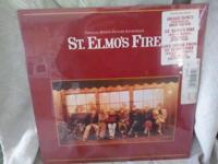 Today we hanged for you a St. Elmo's Fire LP 33 Vinyl