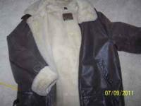 Genuine Leather St Johns Bay Leather Jacket size M.
