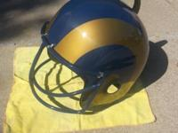 St. Louis Rams Helmet Grill great for tailgate cooking