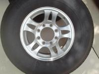 Have 5 mounted tires . ST235/80R16, 8 lugs, load range