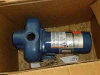 sta-rite 1&1/2 hp 2' in and 1&1/2 out Brand New in the