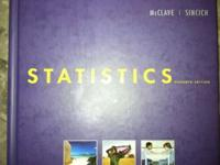 "BRAND NEW BOOKS FOR ""STATISTICS"" AND ""STUDENT SOLUTIONS"