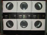 MAYTAG MLG33PDAWW Double Stack Coin Operated Commercial