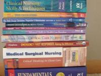 I have a stack of terrific nursing books for sale.