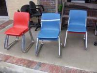 Stacking Chairs $5 each. Please see at Farmer Brown's