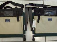 Pair of North Point Stadium Seats with Armrests,