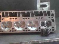Dart Pro 1 215 cc head before and after full port and
