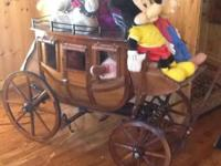 STAGE COACH, ONE OF A KIND, GREAT FOR DISPLAY IN