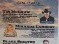 2 stage coach tickets for sale $225.00 all 3 daysThis