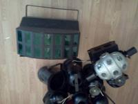 For sale, 18 spot lights,3 floor ( 4 lights ) , 2